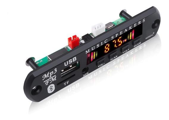 Placa Mp3 Player Usb Cx Amplificadas 5-12v Bluetooth 5.0