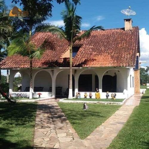 Chácara Com 4 Dormitórios À Venda, 17297 M²  Copaco - Arujá/sp - Ch0010