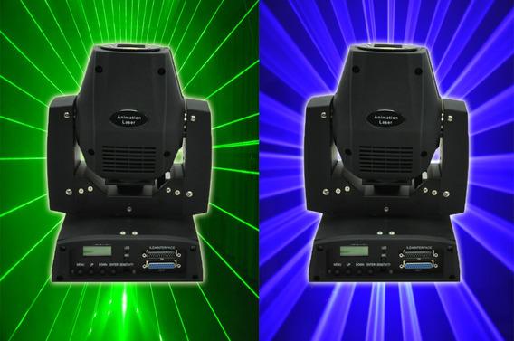 Moving Laser Grafico Kit 2 Unidades 01 Verde 100 01 Azul 500