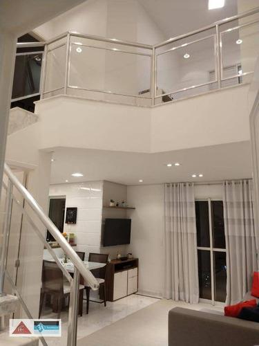 Imagem 1 de 23 de Apartamento Duplex Com 2 Dormitórios À Venda, 70 M² Por R$ 650.000 - Tatuapé - São Paulo/sp - Ad0084