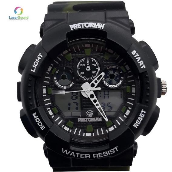 Relógio Pretorian Masculino Wprt-02-2 Com Garantia E Nf