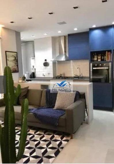 Apartamento À Venda, 62 M² Por R$ 480.000,00 - Marapé - Santos/sp - Ap1059