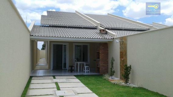 Casa Residencial À Venda, Messejana, Fortaleza. - Codigo: Ca0215 - Ca0215