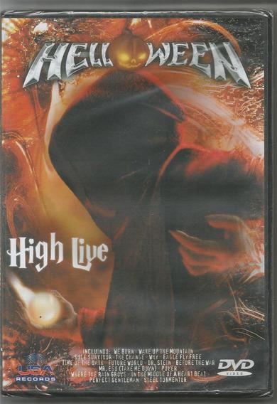 Helloween - High Live - Dvd Novo + 2.000 Itens