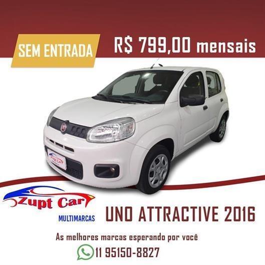 Fiat Uno -- Zero Entrada -- Oportunidade -- Uber 99 Pop