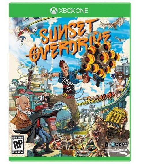 Jogo Midia Fisica Sunset Overdrive Original Para Xbox One