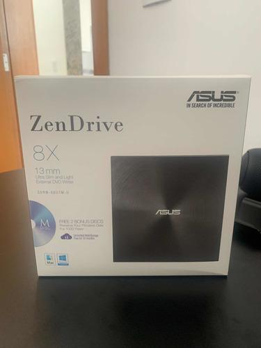 Imagem 1 de 3 de Zen Drive- Drive Leitor-gravador De Cd/dvd Externo