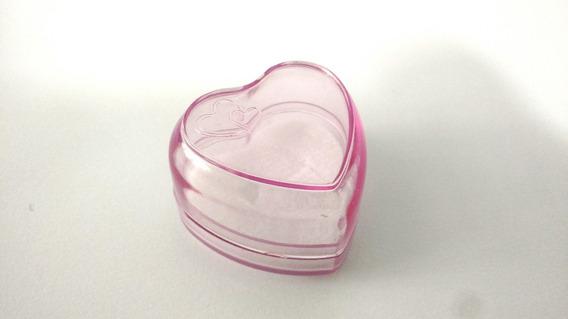 Kit C/ 30 Caixinhas Coração P/ Anel, Brinco E Aliança Rosa