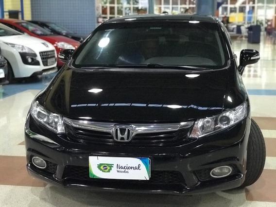 Honda Civic 1.8 Lxl Flex Aut. 4p 2012 Borboleta Volante