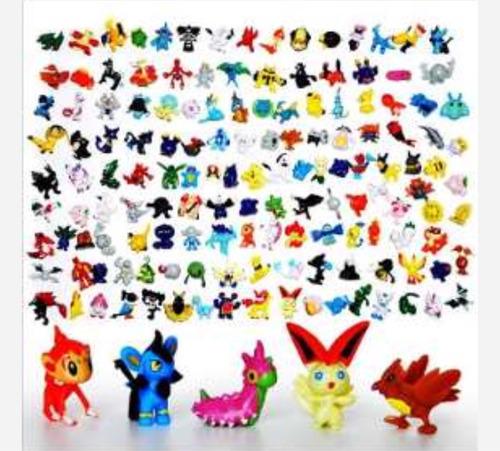 Set De 24 Minifiguritas De Pokemon