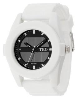 Reloj Tko Orlogi Para Hombre Tk587wt Con Correa Blanca De Si