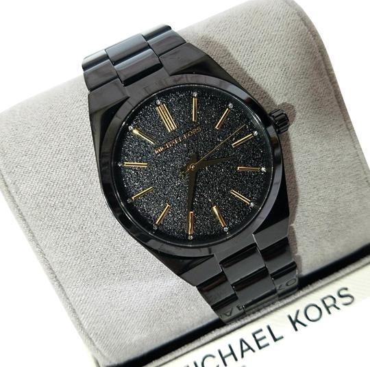 Reloj Dama Mujer Michael Kors Mk6625 Negro Channing