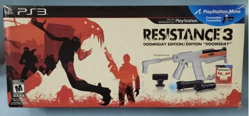 Playstation Move Sharp Shooter. Ps3. En Caja De Resistance 3