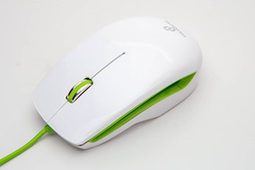 Mouse Óptico Usb Gt Colors Verde 1000dpi - Goldentec