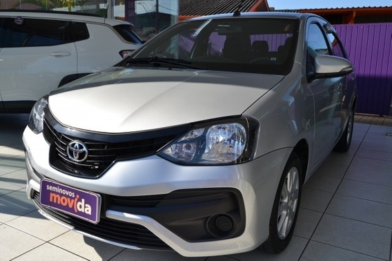 Etios 1.5 X Plus Sedan 16v Flex 4p Manual 36851km