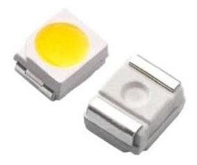 Led Smd 3528 Branco Com Linha Ouro/ Cobre Iluminação 50 Unid