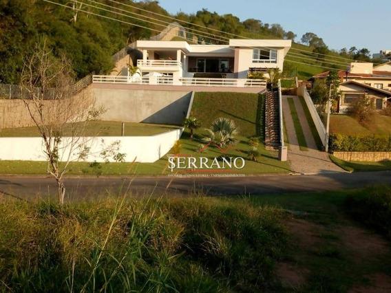 Casa Com 5 Dormitórios À Venda, 499 M² Por R$ 1.900.000,00 - Condomínio Jardim Primavera - Louveira/sp - Ca0634