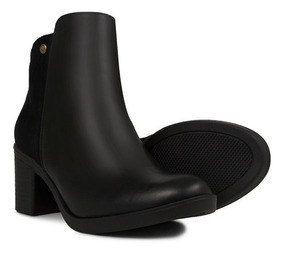 d23af8aa Botines Puchetty Chicago Negro Cuero Mujer