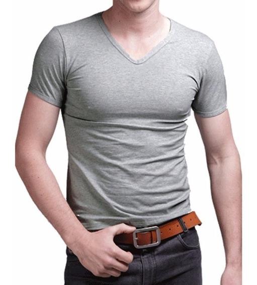 Pack X 4 Remeras Entalladas Slim Fit Para Hombres X Merc Env