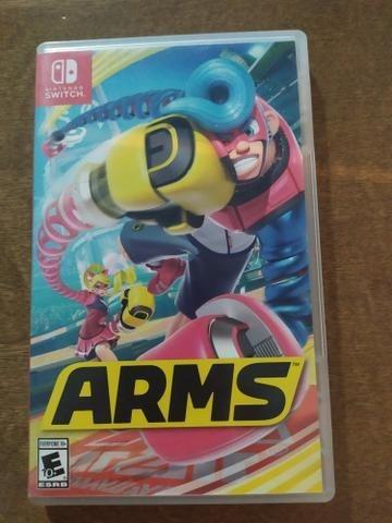 Arms Nintendo Switch. Mídia Fisica.
