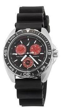 Relógio Nautica N07577g Sport Ring Preto