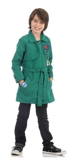 Fantasia Detetives Do Predio Azul Infantil Verde Licenciada
