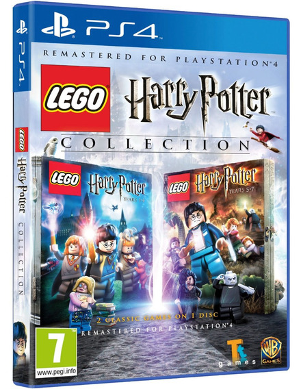 Lego Harry Potter Collection Ps4 Midia Fisica Original Novo
