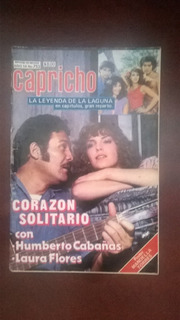 Humberto Cabañas Y Laura Flores En: Fotonovela Capricho