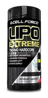 2x Lipo Extreme - Thermo Hardcore (60 Caps) - Cell Force