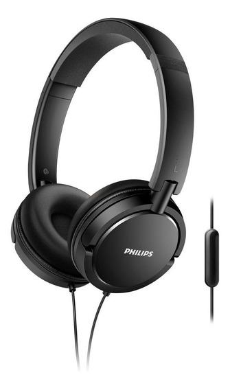 Fone De Ouvido Philips Shl5005/00 Preto Com Microfone