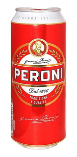 Caja X24 Cerveza Lata Peroni 500 Ml
