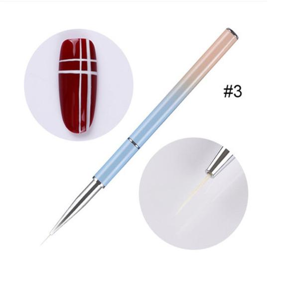 Lápis Prego Fototerapia Esculpido Colorido Caneta Gel Desenh