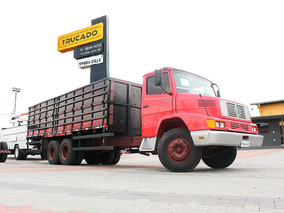 Mb 1621 1992 Carroceria Granaleira 7 Metros = Ford Mercedes