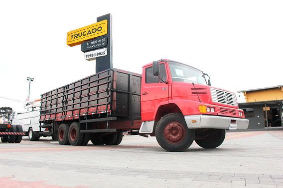 Caminhão Mercedes 1621 1992 Carroceria - Super Conservado