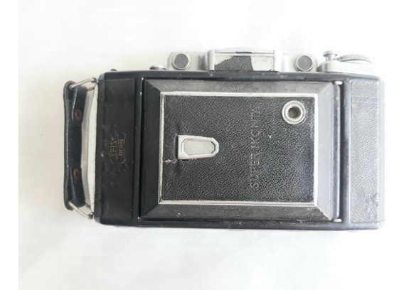 Câmera Fotográfica Antiga Zeiss Ikon