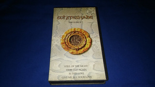 Whitesnake -trilogy (vhs) 1988