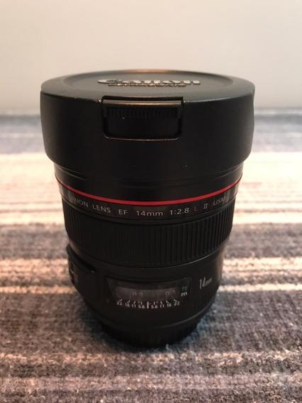 Lente Canon Ef 14 Mm F/2.8 L Ii Usm