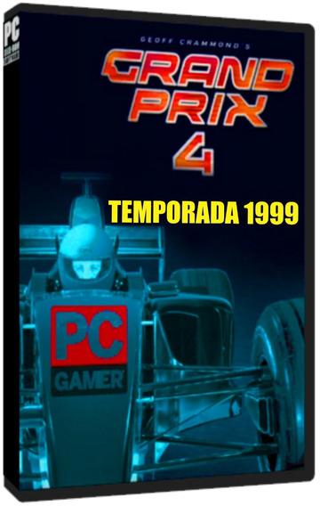 Grand Prix 4 (temporada 1999) - Pc Dvd - Frete 8 Reais