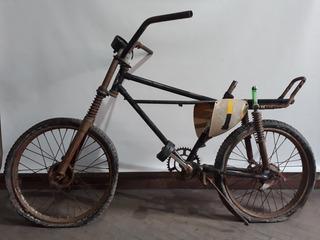 Antigua Bicicleta Kross Moto Con Amortiguacion Vaquero Usa