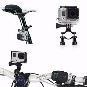 Suporte Guidão Para Go Pro Camera Sports Use Na Bike Moto