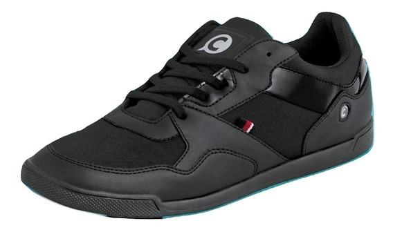 Sneaker Casual Clases Cklass Negro Flat Dtt26803 Sint Hombre