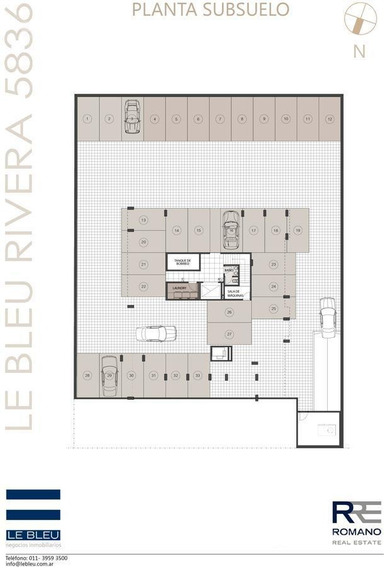 Cochera En Venta En Villa Urquiza -lebleu- Rivera