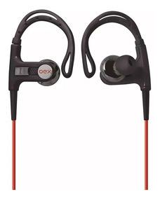 Fone Ouvido Esportivo Microfone Preto Fn401 Oex