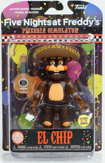 Funko Five Nights At Freddys Pizza Rockstar El Chip Glow