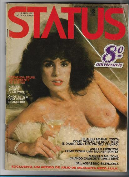 *sll* Revista Status N. 96 - Fernanda Bruni - Julho 1982