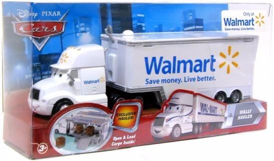 Disney Cars Orig.mattel Wally Hauler Caminhão Walmart
