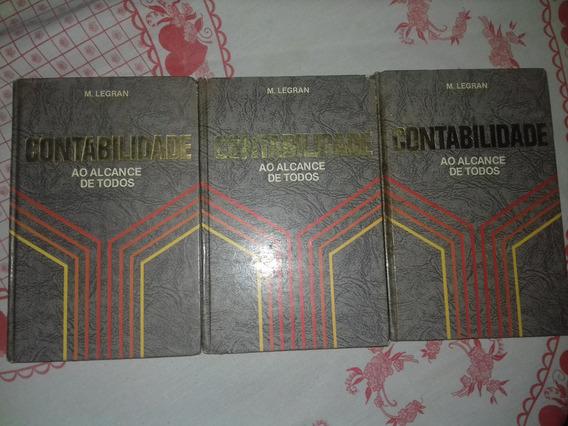 3 Livros Contabilidade Ao Alcance De Todos M.legram
