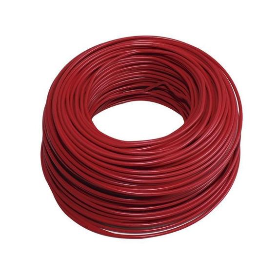 Cable Thw-ls 1x6 Rojo 100m 100% Cobre Nom Cdc