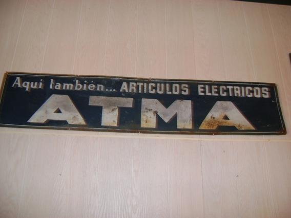 Antiguo Cartel Publicidad