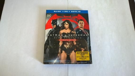 Batman Vs Superman Dawn Of Justice 2 Bluray+ Dvd / Slipcover